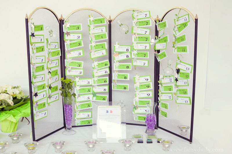 Plan de table mariage - Plan de table coeur mariage ...
